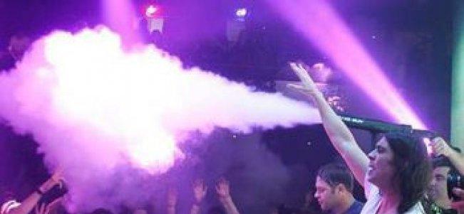Bruiloft.DJ Extra CO2 Gun