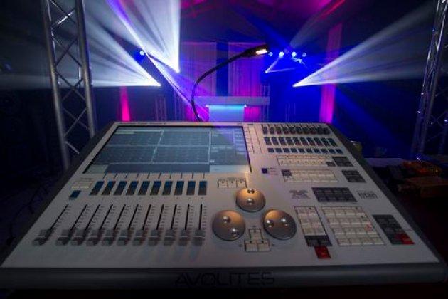 Bruiloft.DJ Extra Licht Jockey